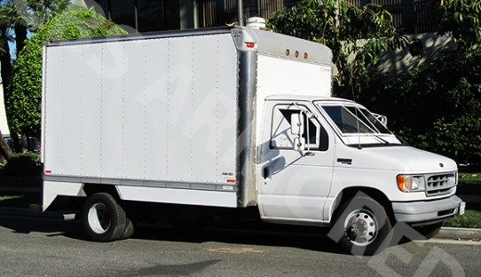 1998 Refurbished Ford E350 Box Armored Truck