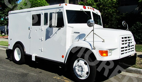 1995 Refurbished Ford F800 Armored Truck