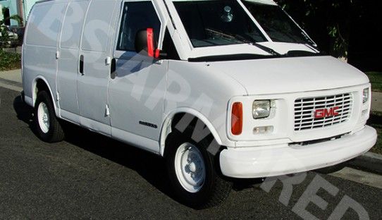1997 Refurbished GMC 3500 Armored Van
