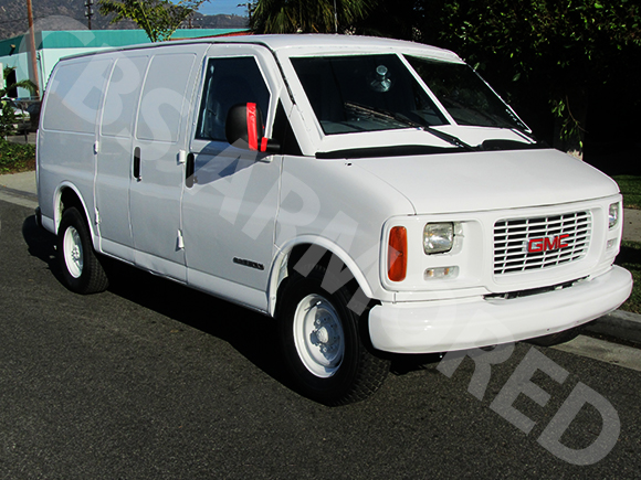 1997-Refurbished-GMC-3500-Armored-Van