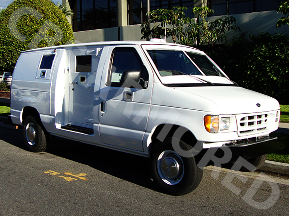 1999-Refurbished-Ford-E350-Armored-Van