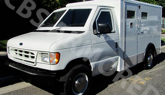2002 Refurbished Ford E350 Armored Y-Van