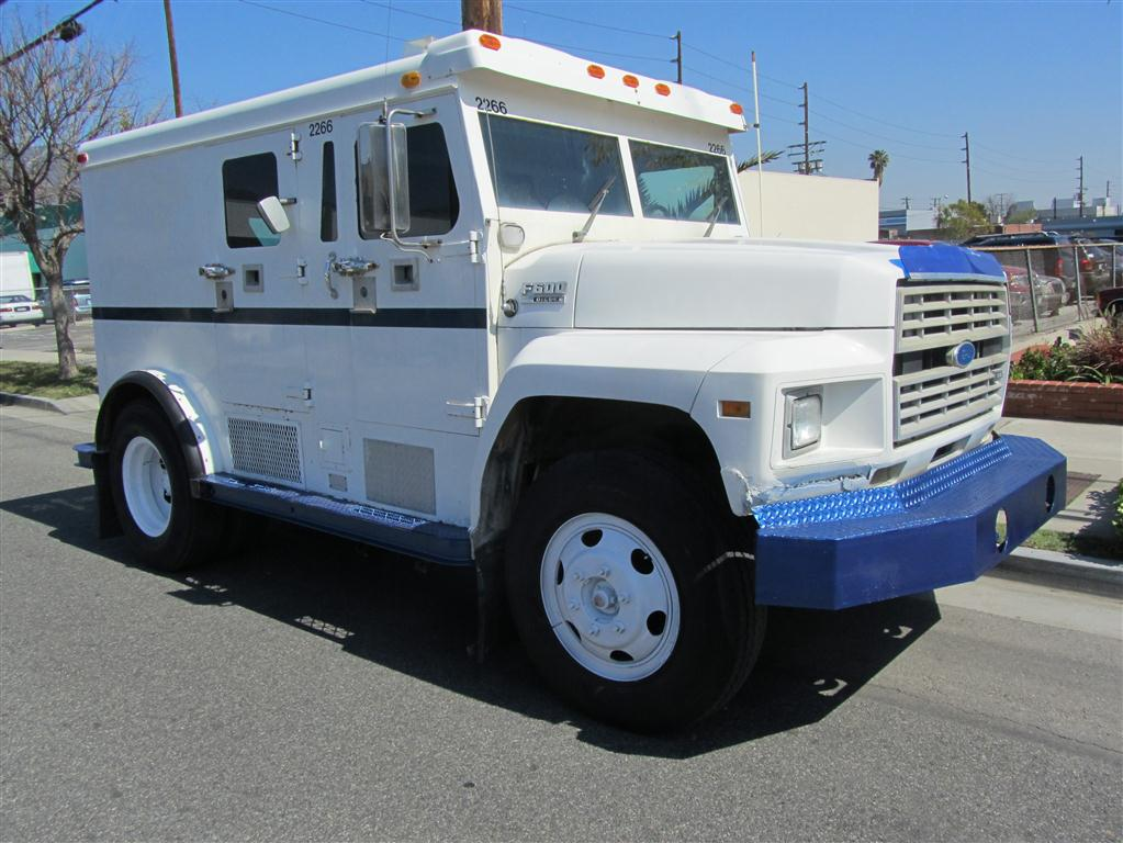Used Ford F600 Armored Truck | CBS Armored Trucks