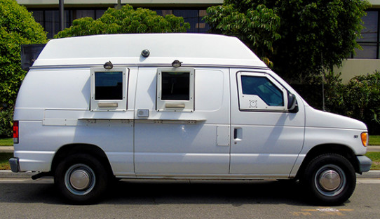 1999 Refurbished Ford E250 Cash Checking Armored Van