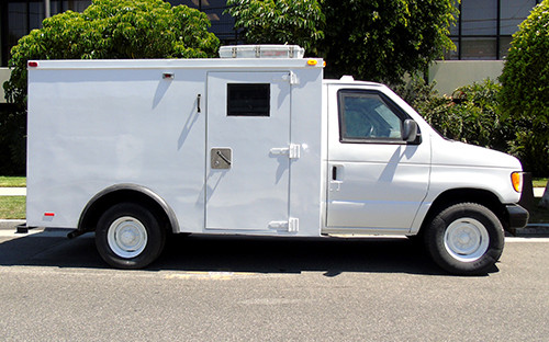 2001 Refurbished Ford E350 Y Armored Van