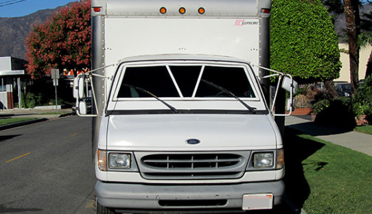 1998 Used Ford E350 Armored Box Van