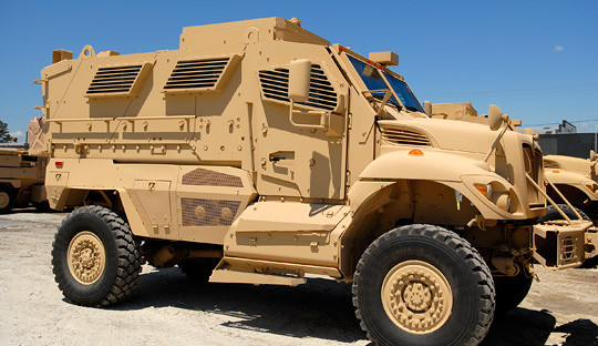 13,000 Used Armored Trucks Given Away By The Pentagon