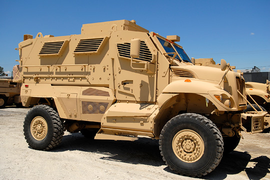MRAP (Mine-Resistant, Ambush Protected