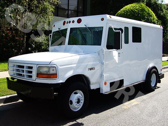 1996 Refurbished Ford F450 Armored Truck | CBS Armored Trucks